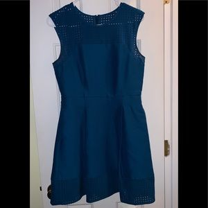 J. Crew turquoise Size 4 dress